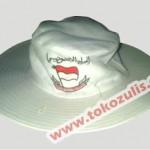 Topi Haji Umroh Lebar