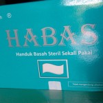 Habas Handuk Basah Perlengkapan Mandi Saat Haji